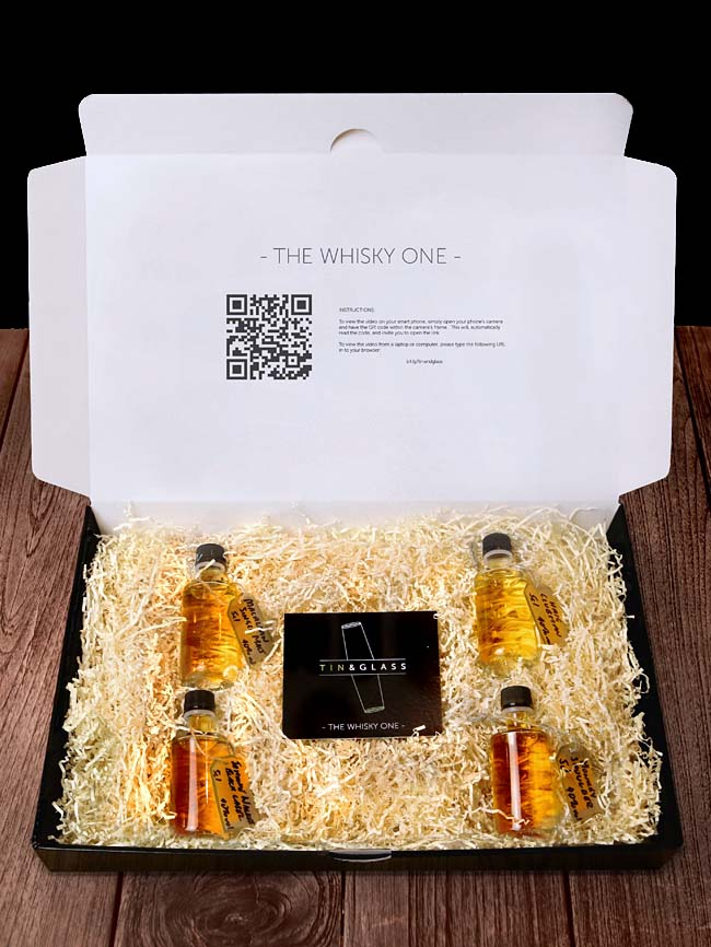 Tin and Glass Whiskey Experience Box